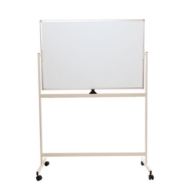 Mobile Reversible Dry Erase Whiteboard Easel