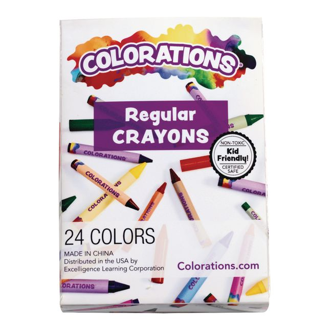 Colorations Crayons Pack of 24_3