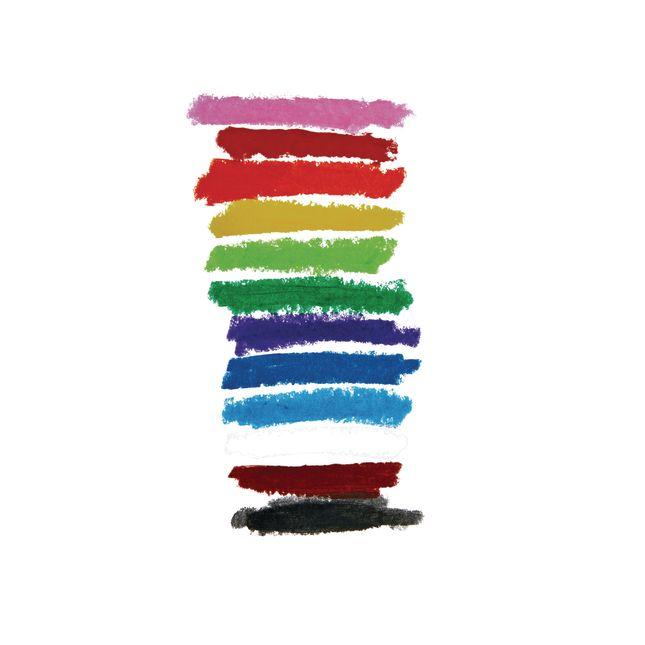 Tempera Paint Sticks, Set of 12 Classic Colors