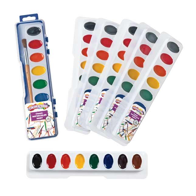 Colorations Washable Watercolors - 16 Colors_7