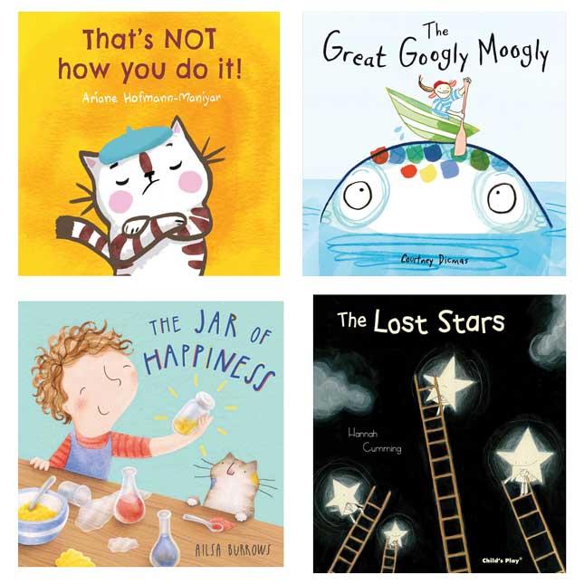 Social Emotional Learning Book Set of 4
