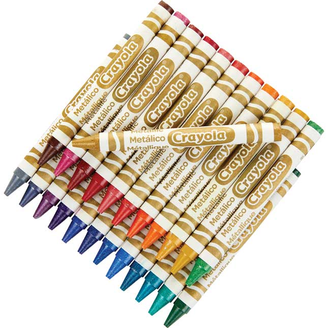 Crayola Neon, Metallic & Pearl Crayons