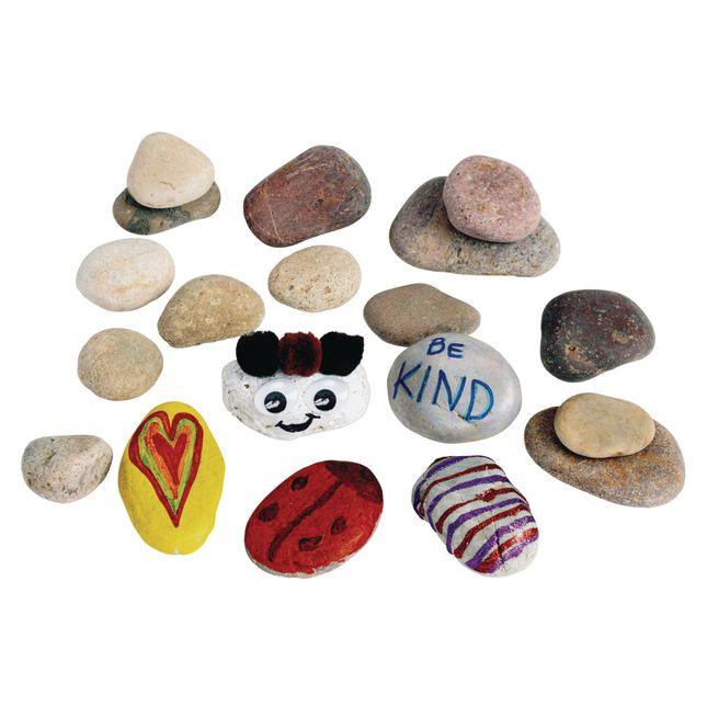 Assorted Craft Rocks 2 lb. Bag_1