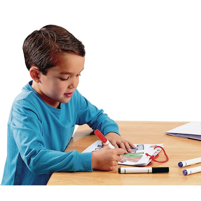 Colorations Craft Bags with Handle - Set of 24