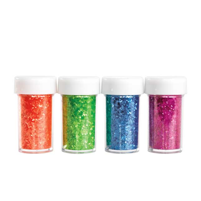 Colorations Neon Glitter Set of 4
