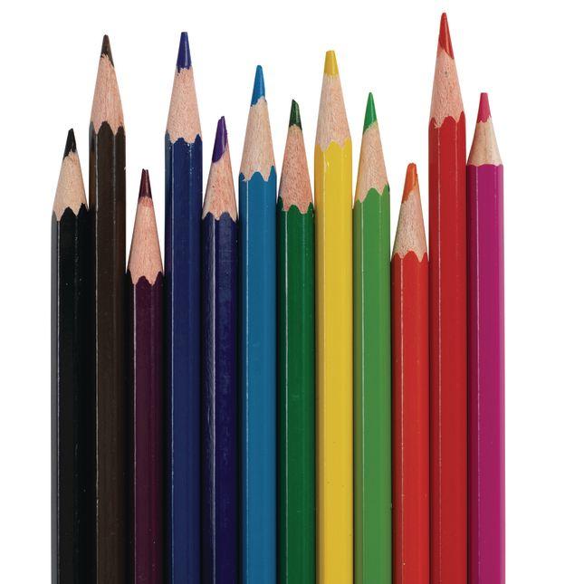 Colorations Regular Colored Pencils, 12 Colors, 2 Sets_3