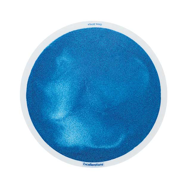 Excellerations Glitter Circle Liquid Tiles - Set of 5