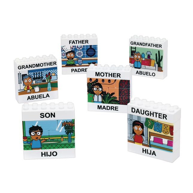 Excellerations Puzzle Up Hispanic Family 48 Pieces