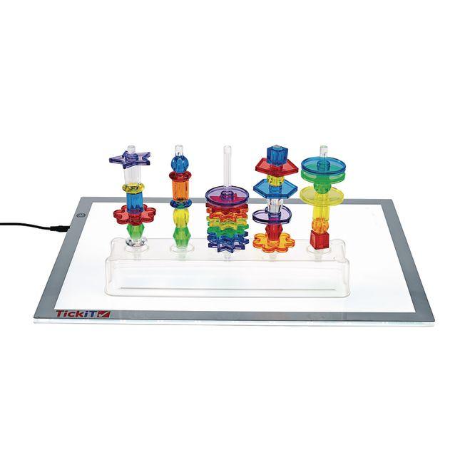 Excellerations STEM Math Light Table Activity Set