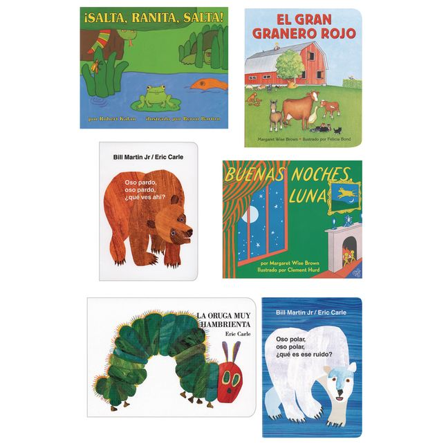 Classic Book Set in Spanish - 6 Titles