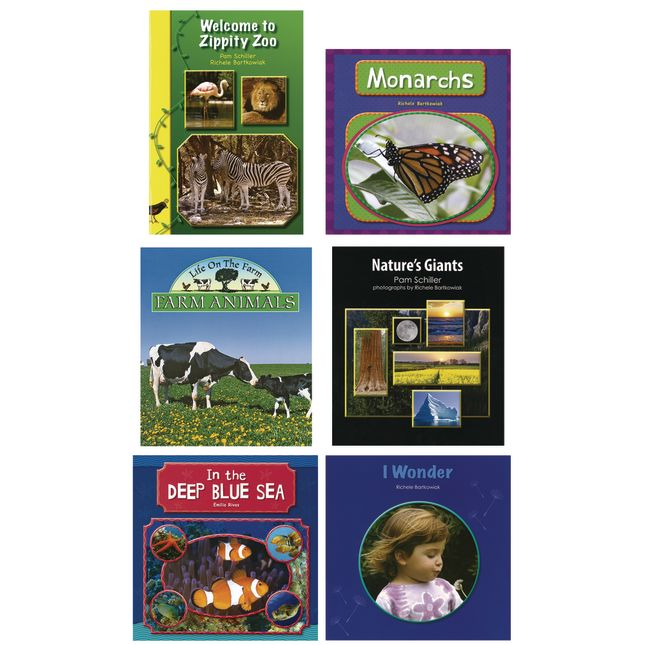 Frog Street Science Book Set of 6