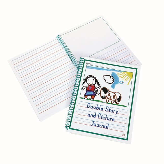 Excellerations® Double Story and Pic Journal Set of 10