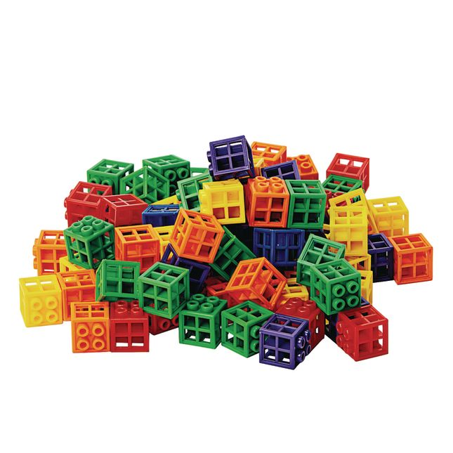 Excellerations® Grid Linking Cubes - 300 Pieces