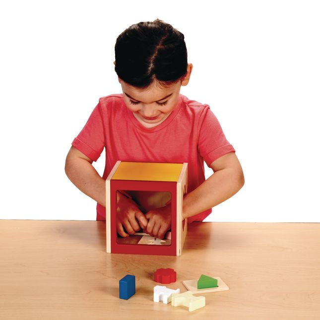 Excellerations® Touch and Guess Puzzle Box