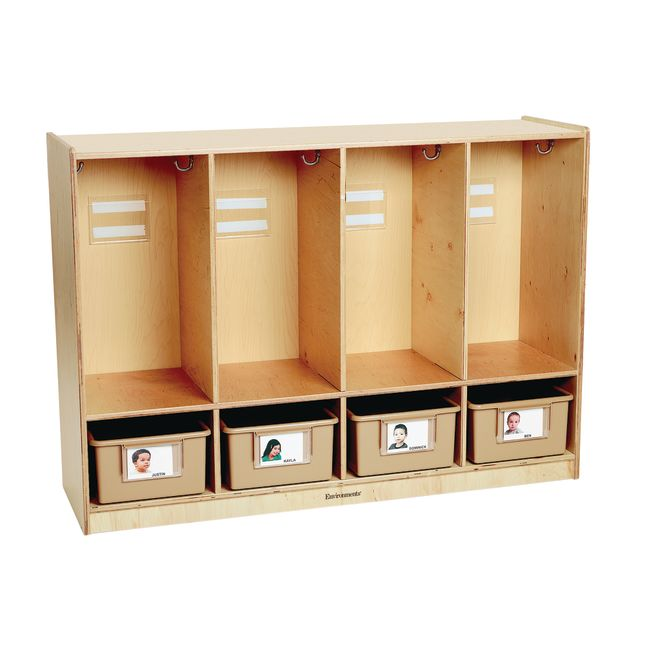 Environments® My Size Toddler Locker - Assembled
