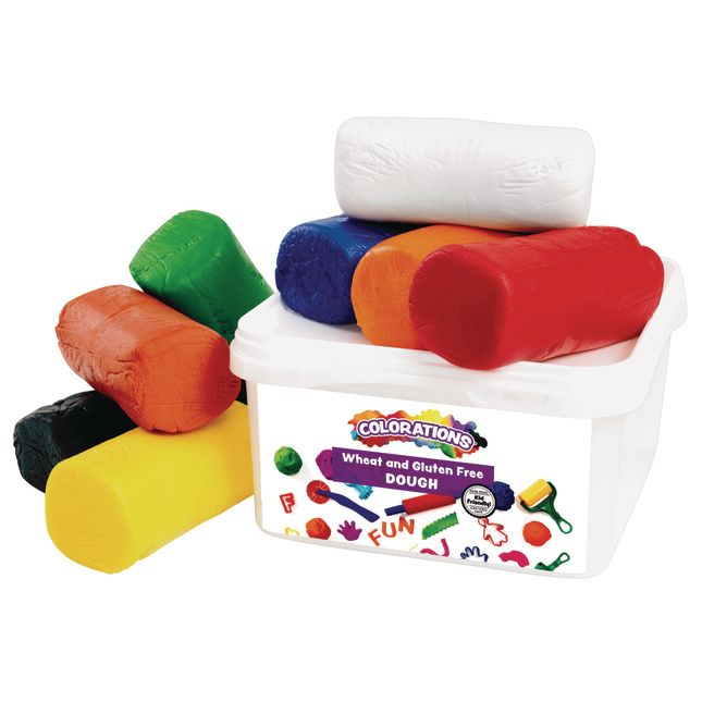 Colorations® Wheat and Gluten-Free Dough - 5 1/2 lbs.