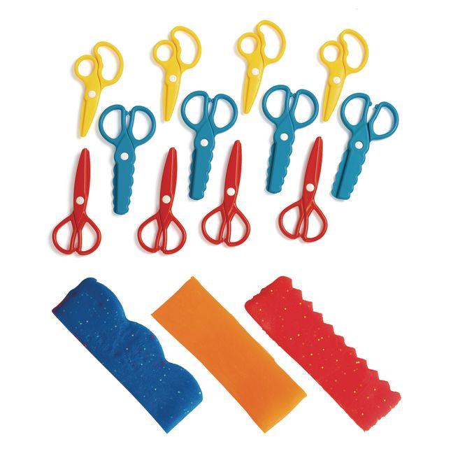 Colorations® Fun Dough Scissors - Set of 12