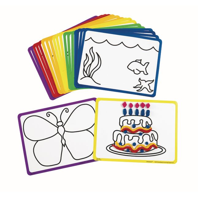 Colorations® Creative Modeling Mats - Set of 20