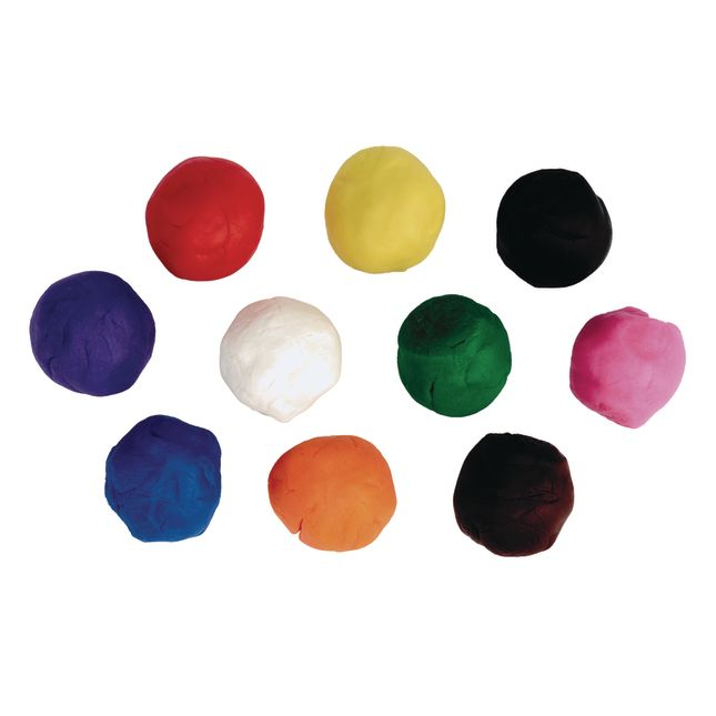 Colorations® Classic Dough, Set of 20, 10 Colors, 2 oz pots