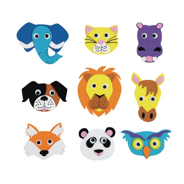 Colorations[r] Animal Friends Magnets - Kit for 36