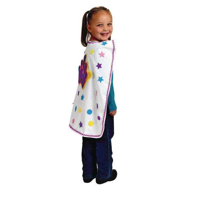 Colorations[r] Decorate Your Own Action Cape - Set of 6
