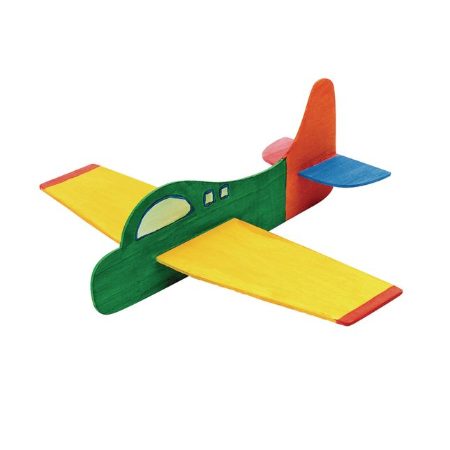 Colorations DYO Wood Plane, 1 Piece