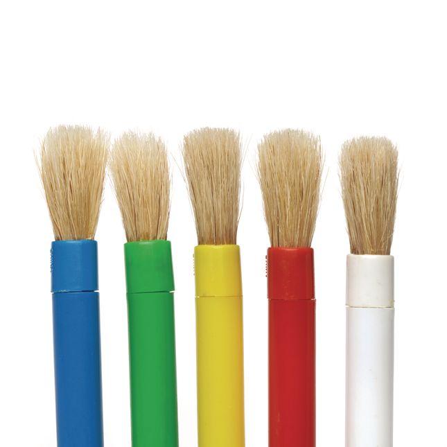 Colorations® Mini-Brush Classroom Pack - Set of 60