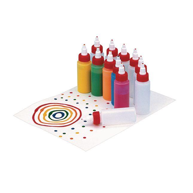 Nancy[tm] Paint Bottles Twist Tops, 2 oz. - Set of 12