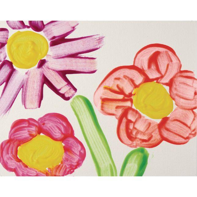 Colorations® Fluorescent Gel Paints, 16 oz, Set of 7