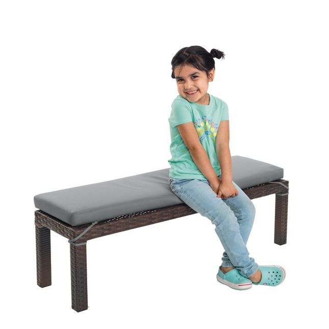 Excellerations® Outdoor Wicker Bench