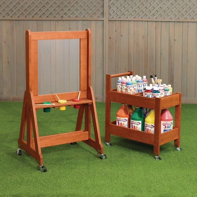 Excellerations® Outdoor Arts and Crafts Furniture Set