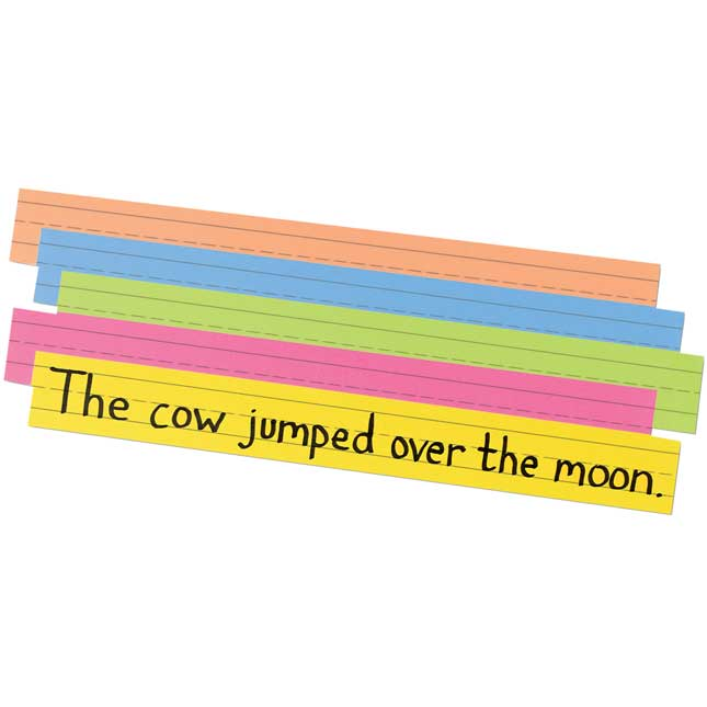 Super Bright Sentence Strips