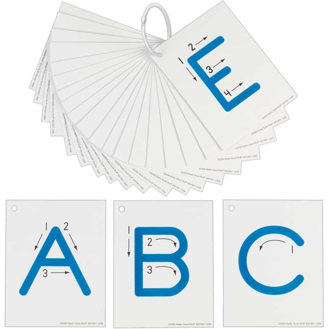 EZread™ Tactile Alphabet Uppercase