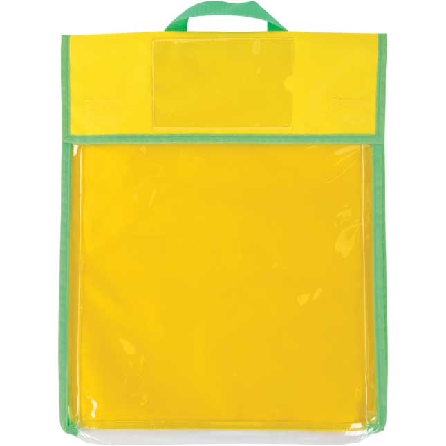 Store More® Large Clearview Book Pouches - Primary Colors - Set Of 4