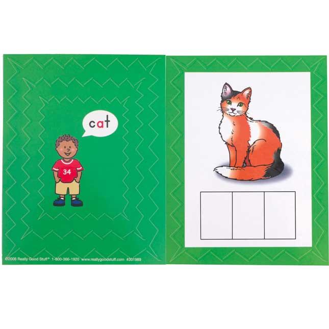 Make-A-Word CVC Word Building Cards Set