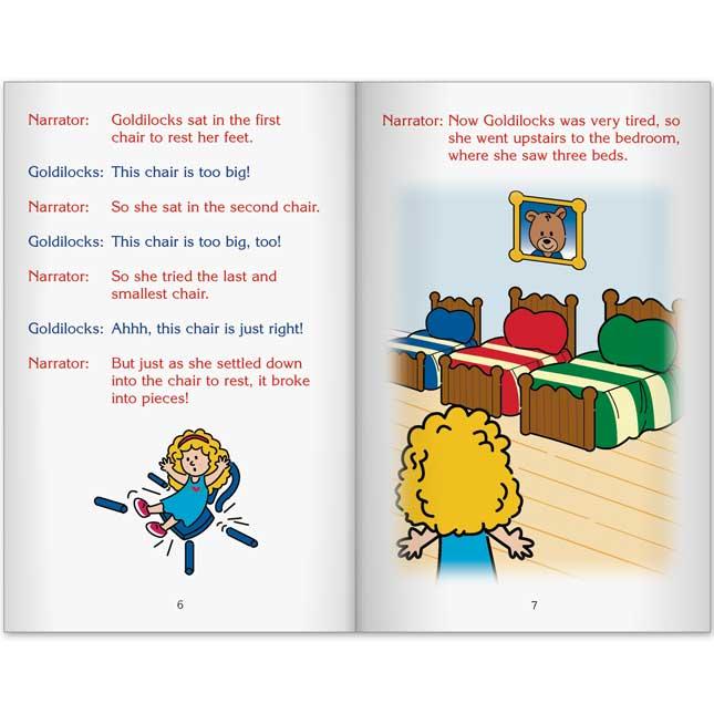 Really Good Readers' Theater - Goldilocks And The Three Bears Book