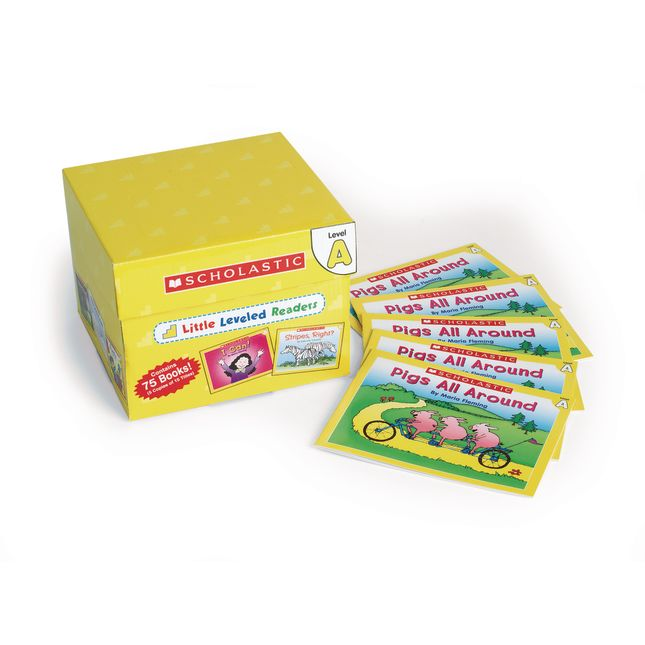 Little Leveled Readers Book Set - Set A
