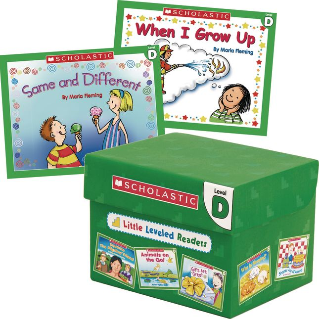 Little Leveled Readers Book Set - Set D