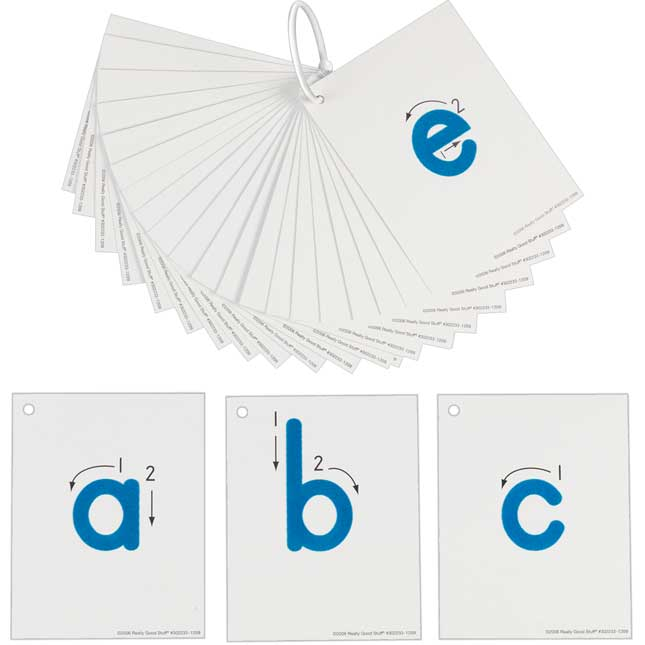 EZread™ Tactile Alphabet Lowercase
