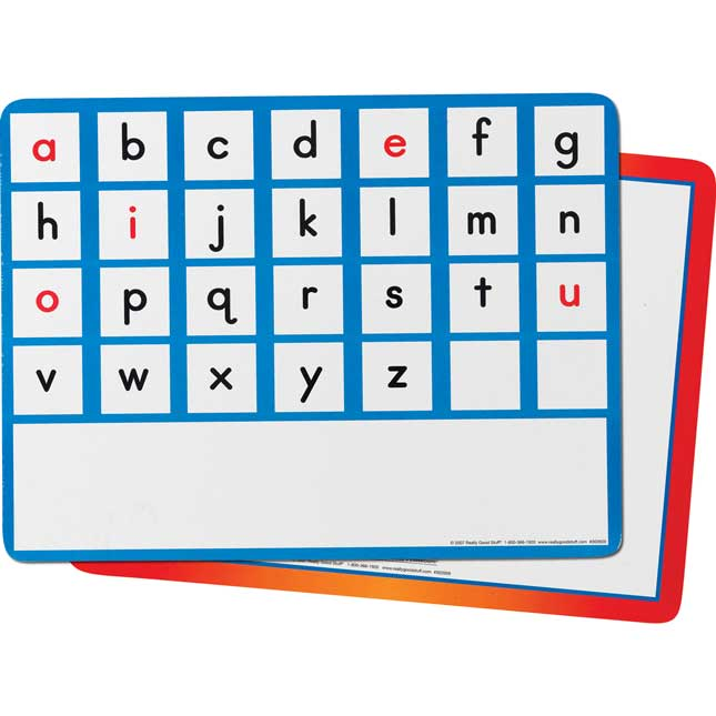 EZread™ Desktop Word-Building Mat