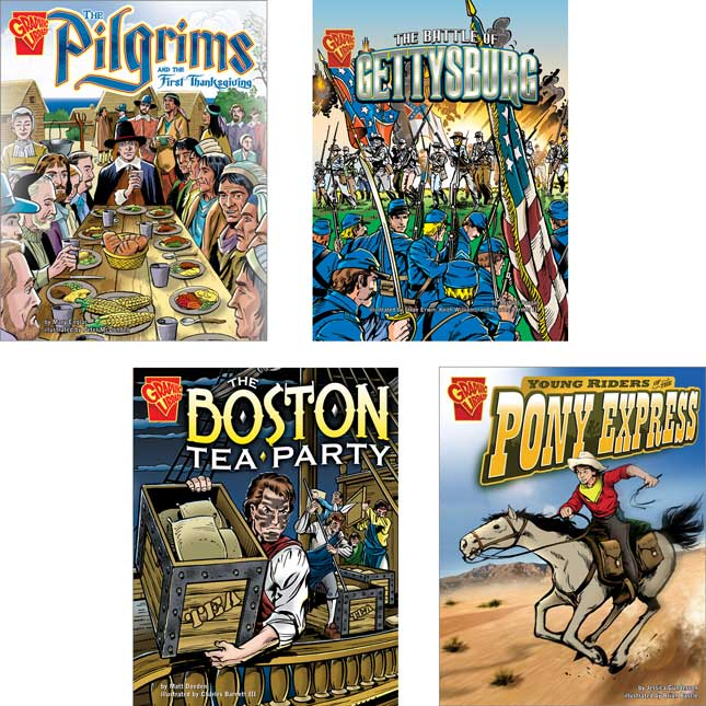 Graphic History Book Set 1