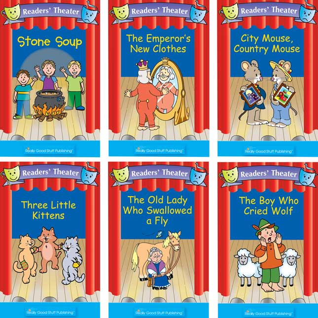 Really Good Readers' Theater - Folk Tales Book Set 1