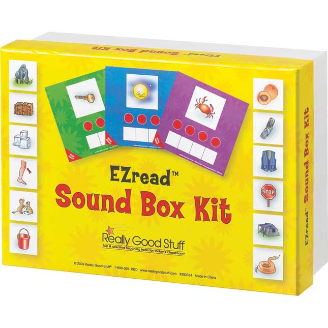 EZread™ Sound Box Kit - 190 pieces