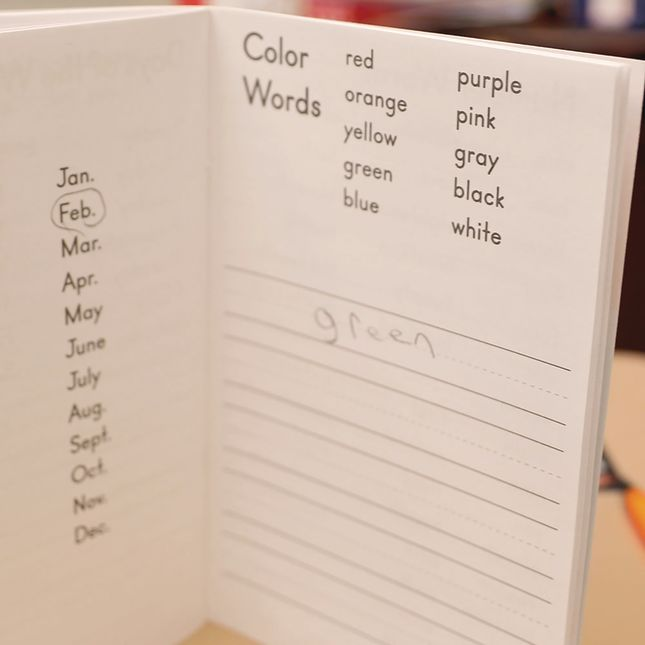 My Writing Words Journal - Softcover - 12 journals_7
