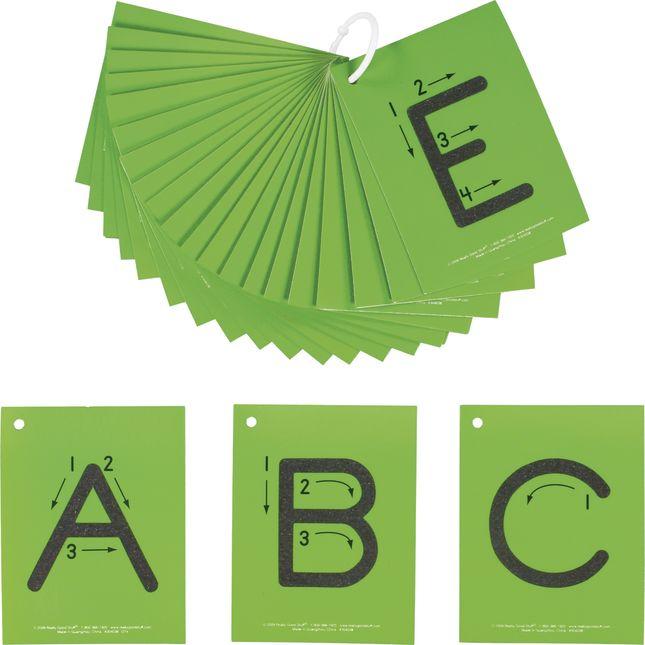 EZread™ Sandpaper Tactile Letters: Uppercase