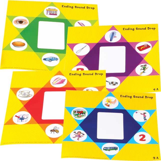 Ending Sound Drop Literacy Center - Grades 2-3