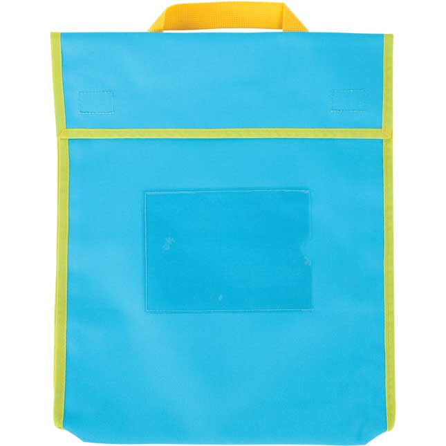 Store More® Large Book Pouches - Neon Colors - Set Of 4