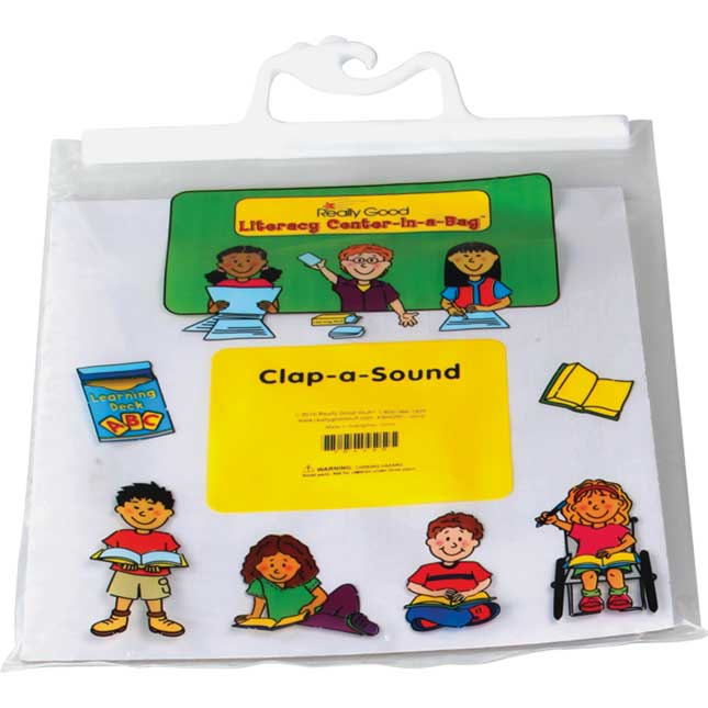 Clap-a-Sound Literacy Center - Grades 2-3