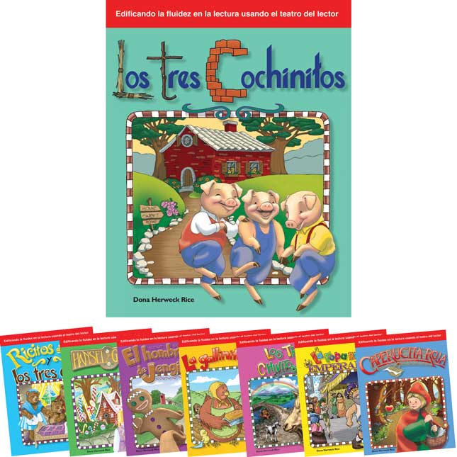 Reader's Theater Folk and Fairy Tales Spanish Book Set