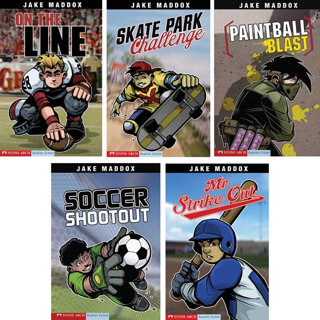 Jake Maddox Sport 10-Book Set